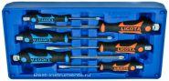 ACK-B3005 Набор отверток цельнометаллических в ложементе-кейсе Licota, 6 предметов.
