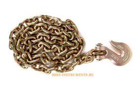 ATS-4053-b Кузовная цепь с крюком 1шт х1,5м Licota